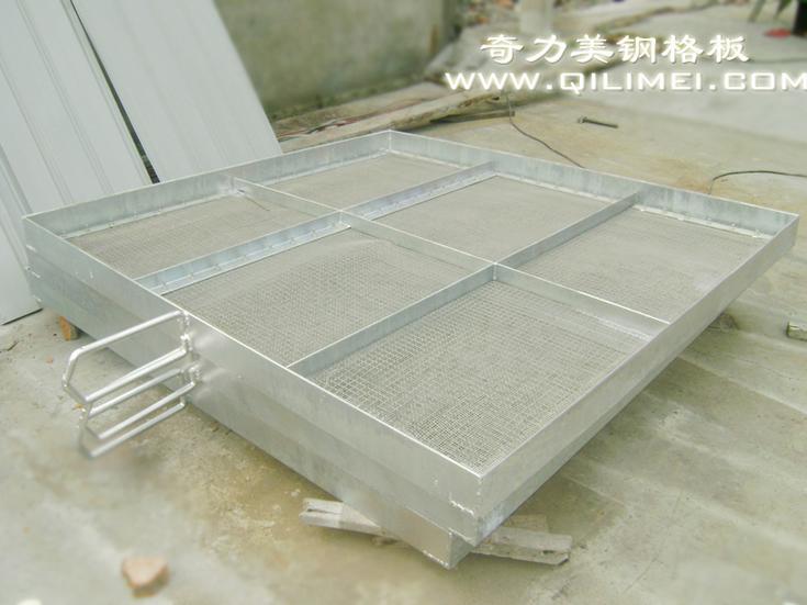 自来水厂过滤用钢格板